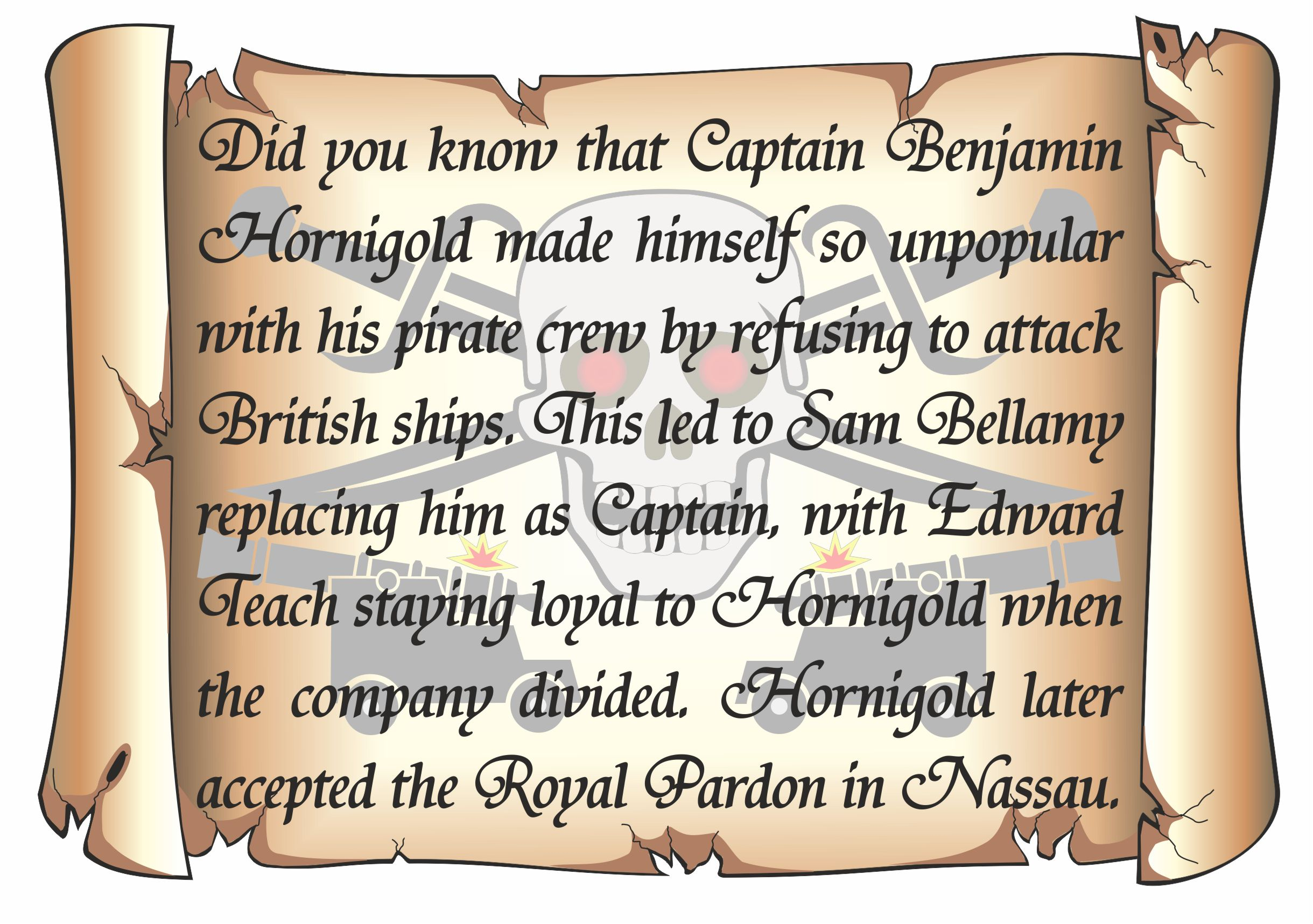 Did you know (Ben Hornigold) 2