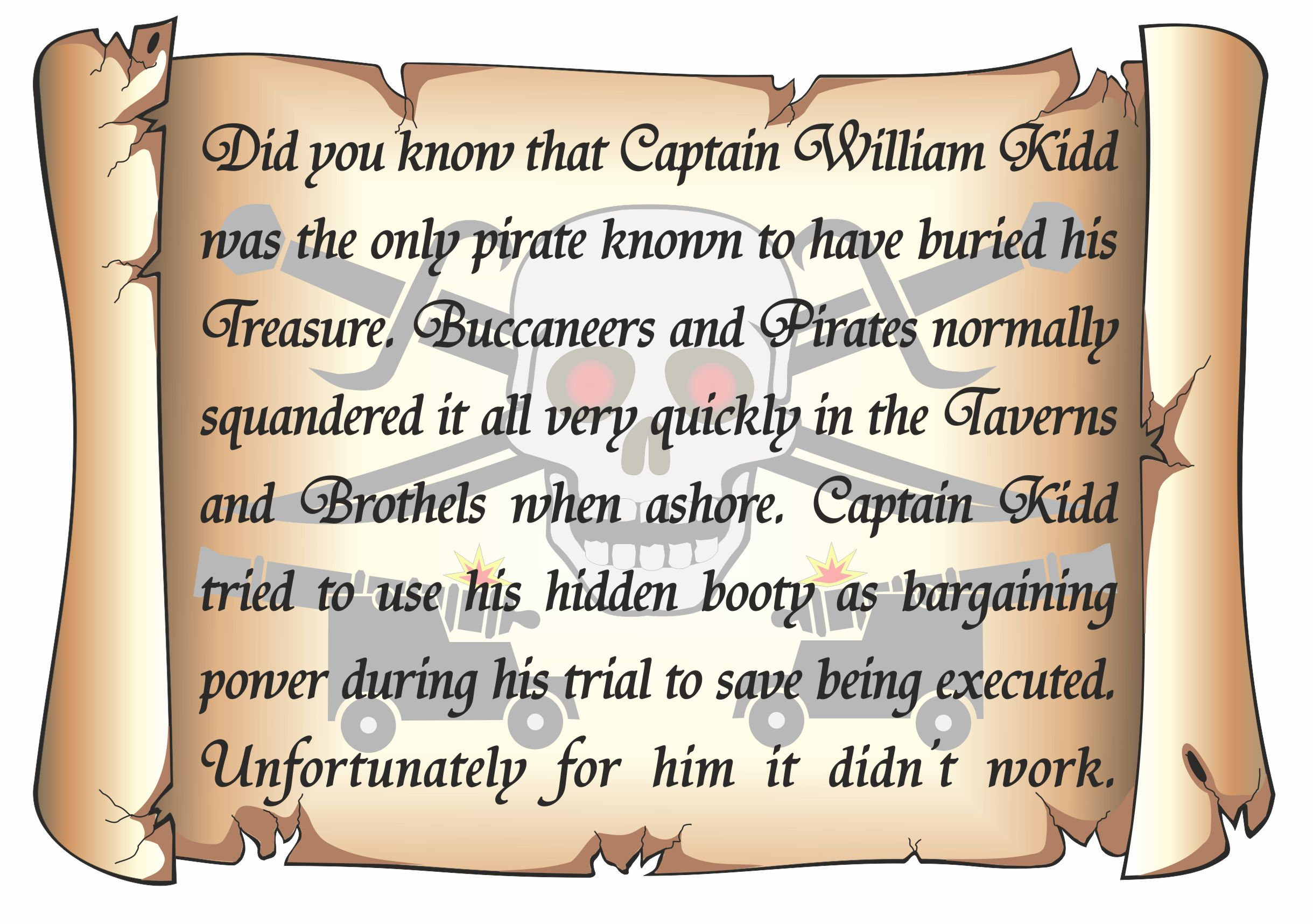 Did you know (Captain Kidd) 2