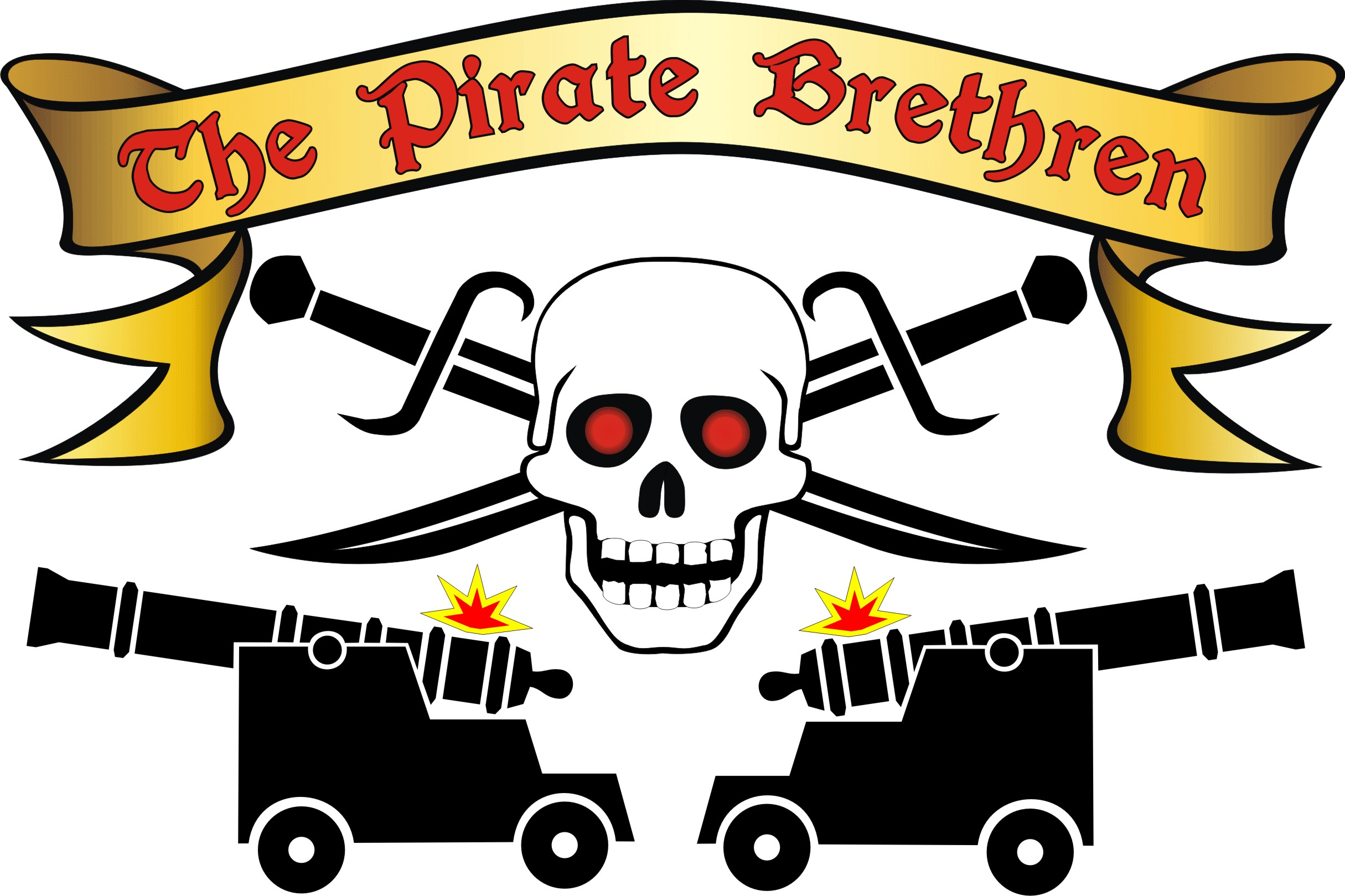 Pirate Brethren Logo (perry gothic).