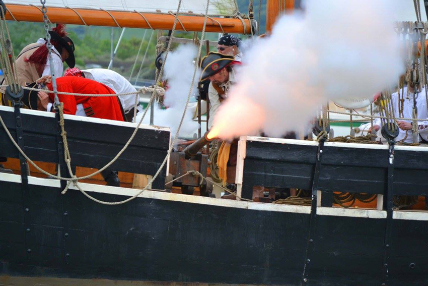 Conwy Pirate Weekend 2017