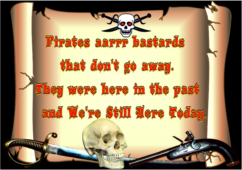 Pirates aarrr bastards